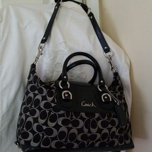 Coach Ashley Signature Bag
